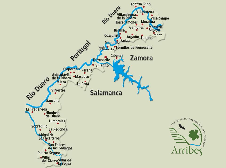 Denominacion de Origen Arribes región